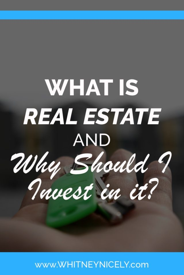 What is Real Estate? image of hand with keys