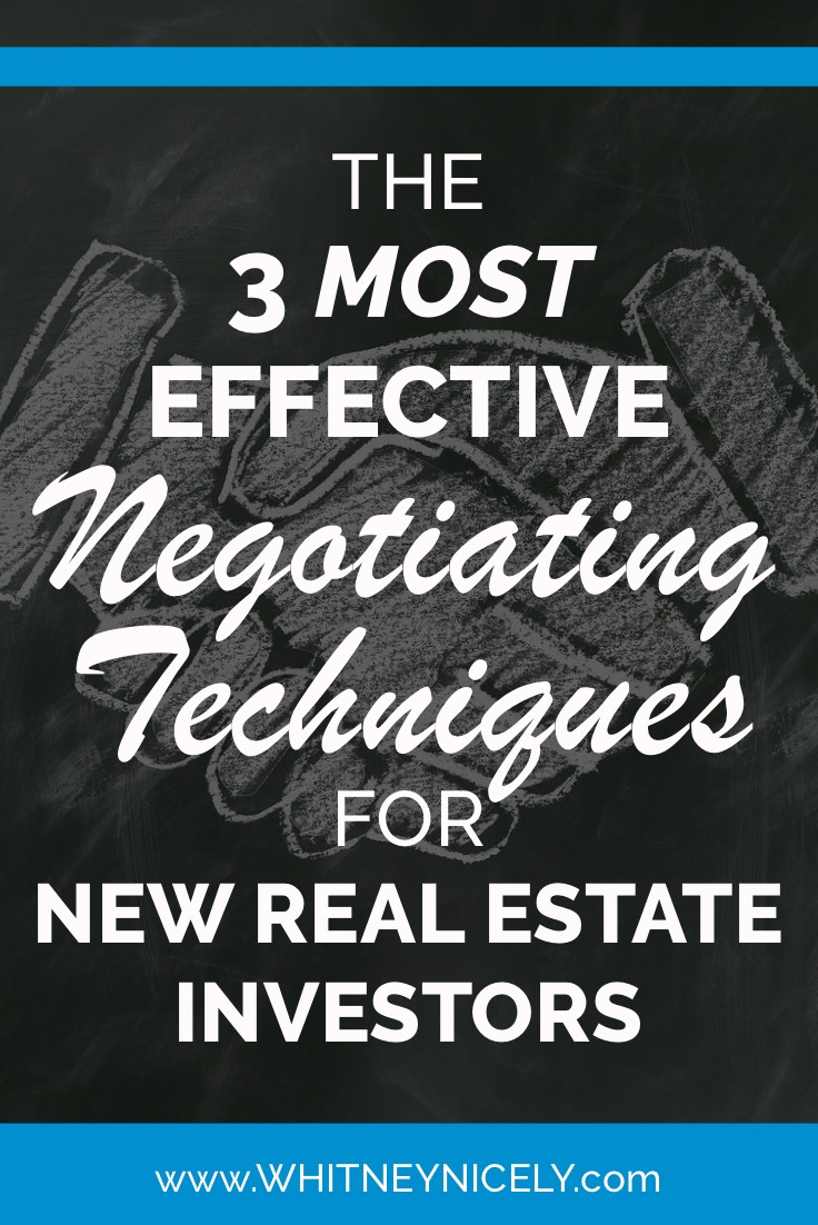 What are the Most Effective Negotiating Techniques for Investors?
