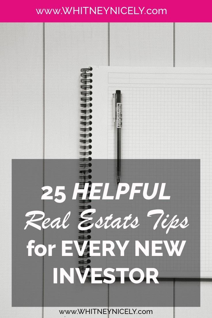 25 Extra Helpful Real Estate Tips for Every New Investor