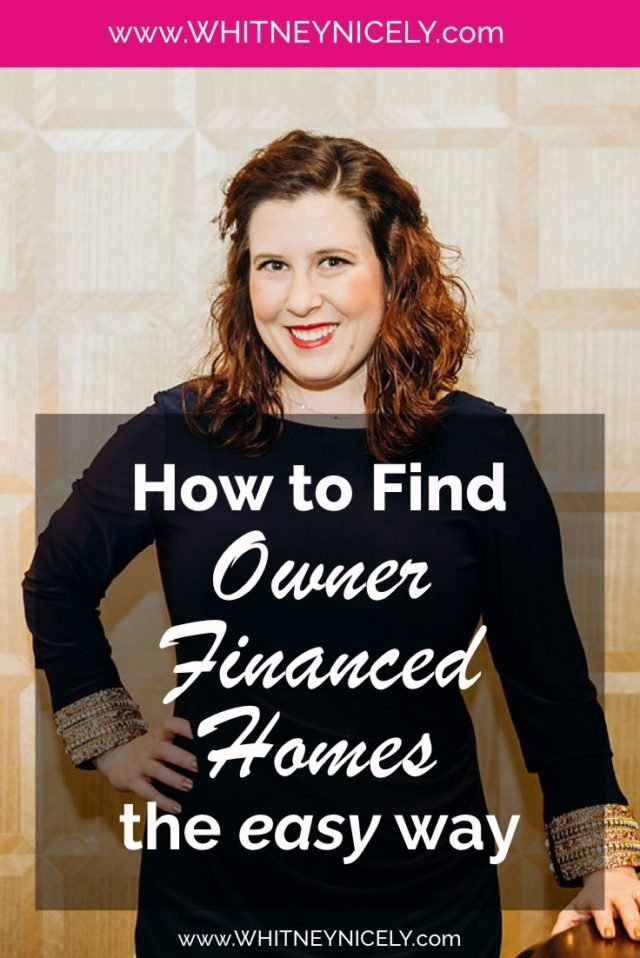 Image of Whitney Nicely - How to Find Owner Financed Homes
